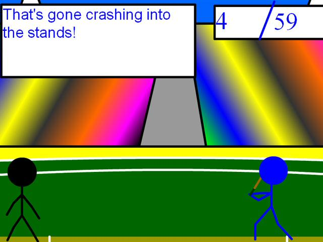 Stickman Flash Cricket